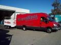 Service Van and Trailer